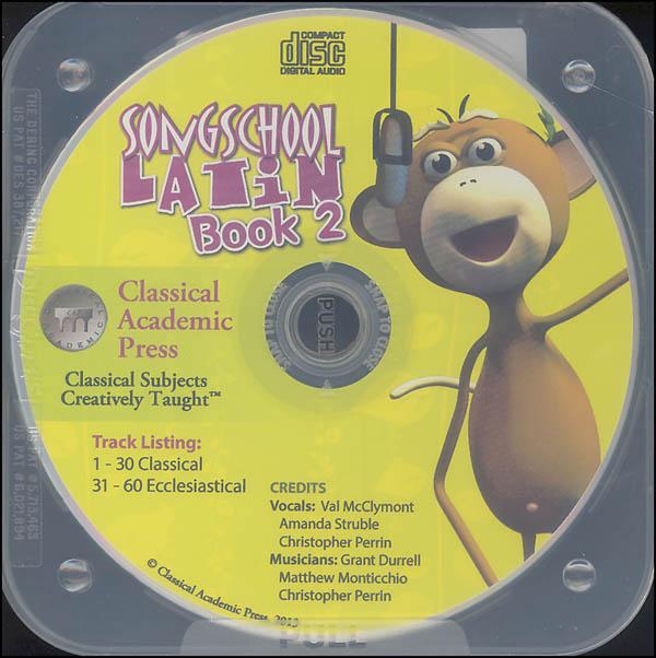 Song School Latin CD Only - Book 2