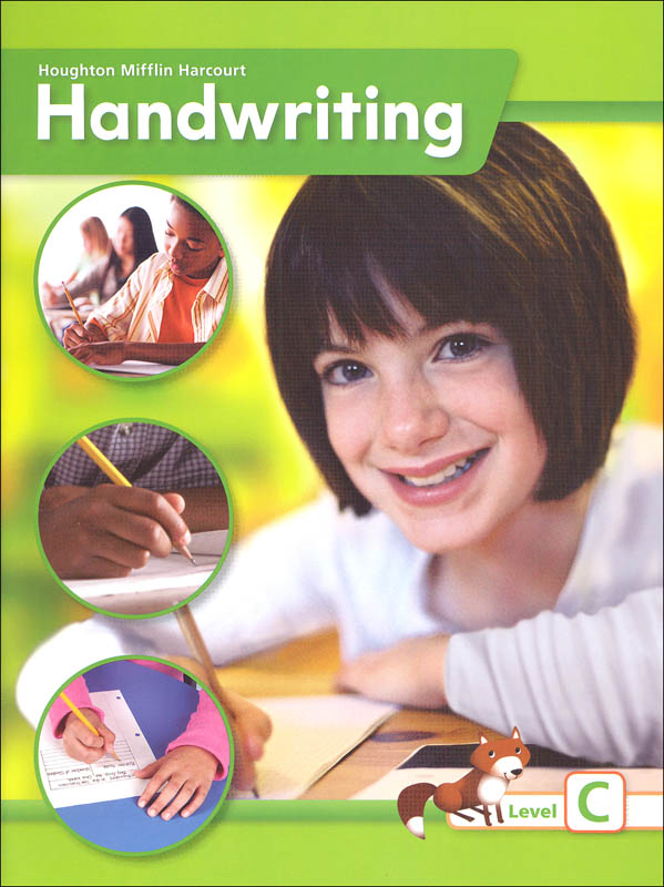 Houghton Mifflin Harcourt International Handwriting Continuous Stroke Student Edition Grade 3 Level C