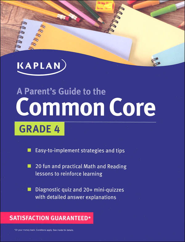 Parent's Guide to the Common Core: Grade 4