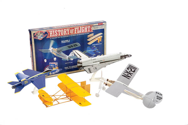 History of Flight Kit