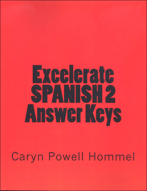 Excelerate Spanish 2 Answer Keys