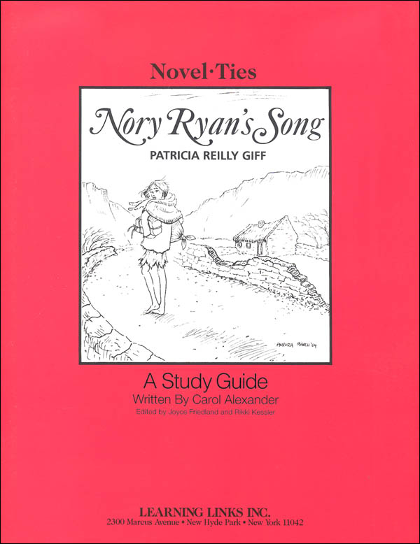 Nory Ryan's Song Novel-Ties Study Guide