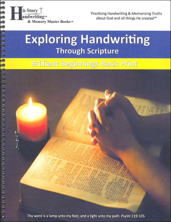 Exploring Handwriting Through Scripture: Print