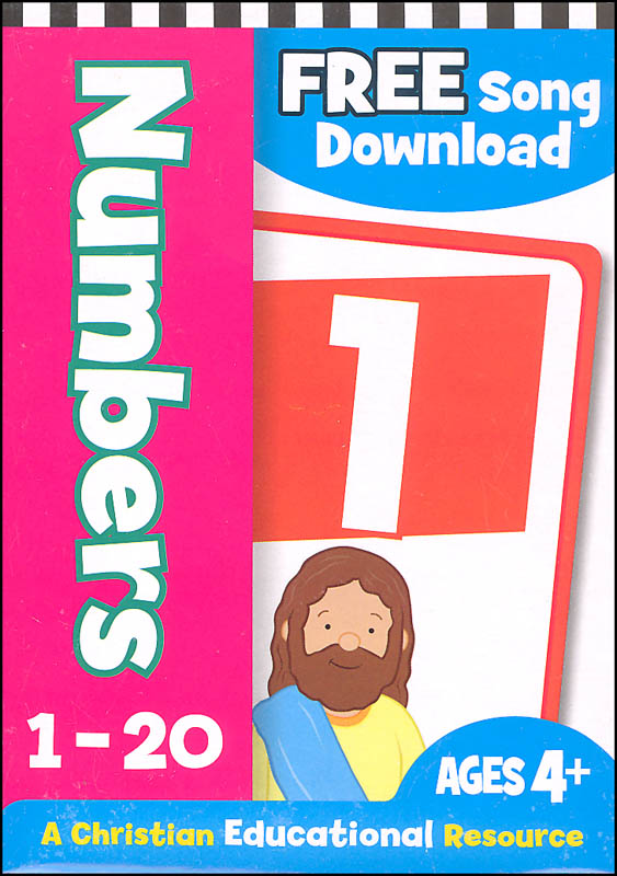 Numbers 1-20 Flash Cards - Bible Theme