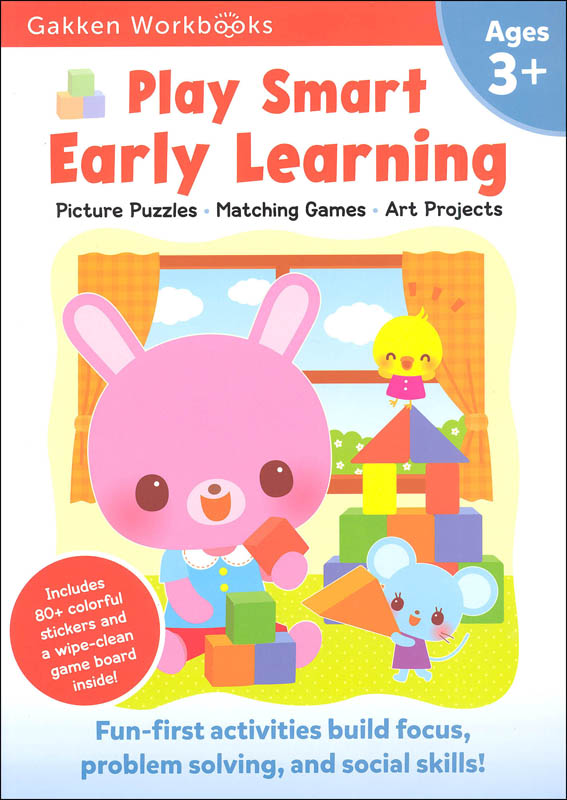 Play Smart Early Learning Workbook Age 3+