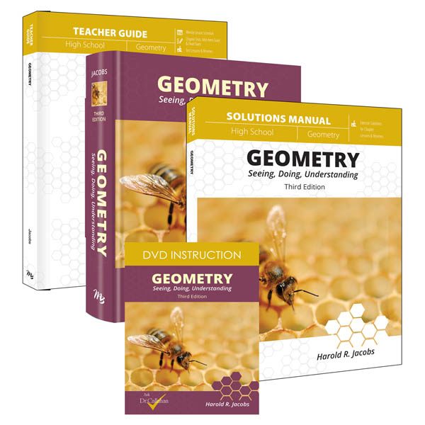 Geometry Curriculum Pack with DVD