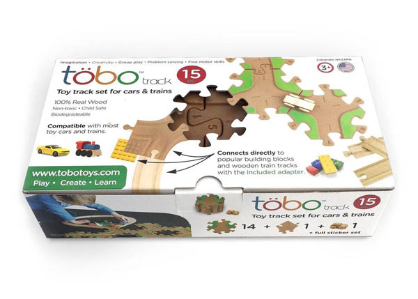 Tobo Track 15 with Playshare Adapter