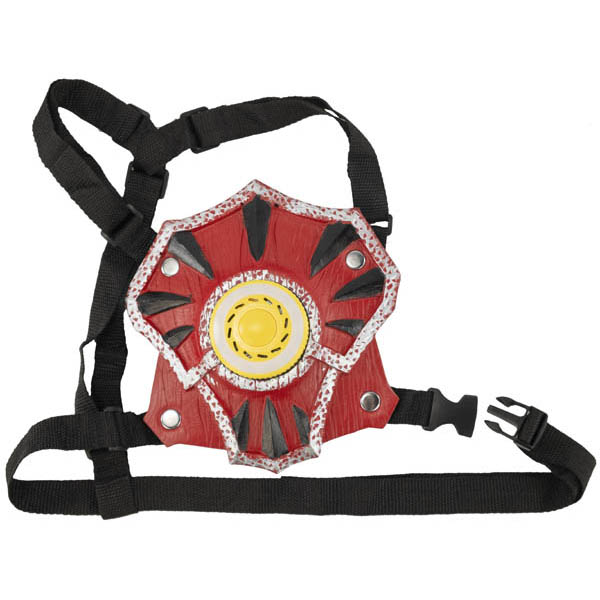 WhomBatz Ninja Tag Scorekeeping Breastplate - Red