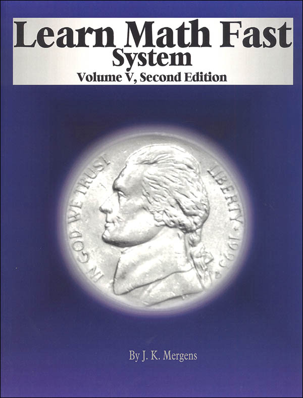 Learn Math Fast System Volume V