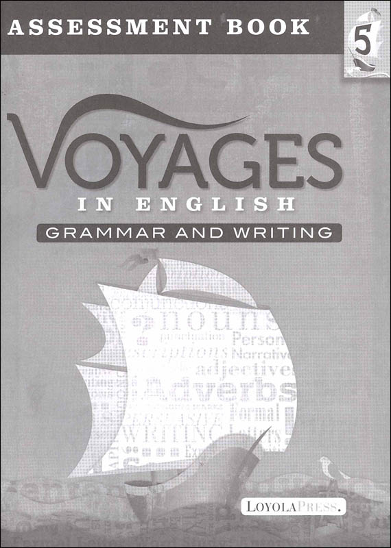 Voyages in English 2018 Grade 5 Assessment Book
