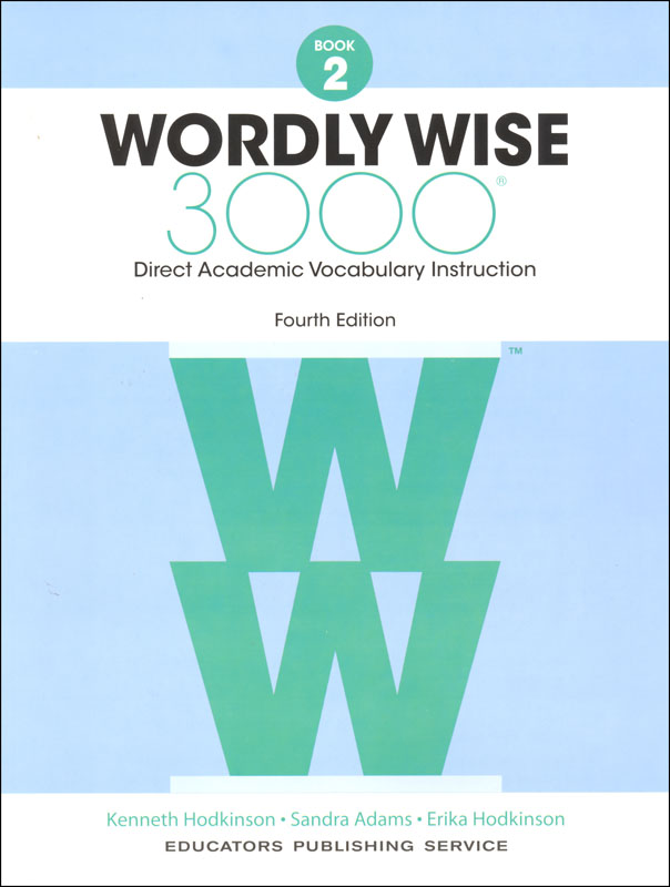 Wordly Wise 3000 4th Edition Student Book 2