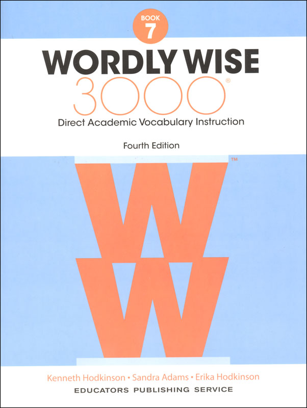 Wordly Wise 3000 4th Edition Student Book 7