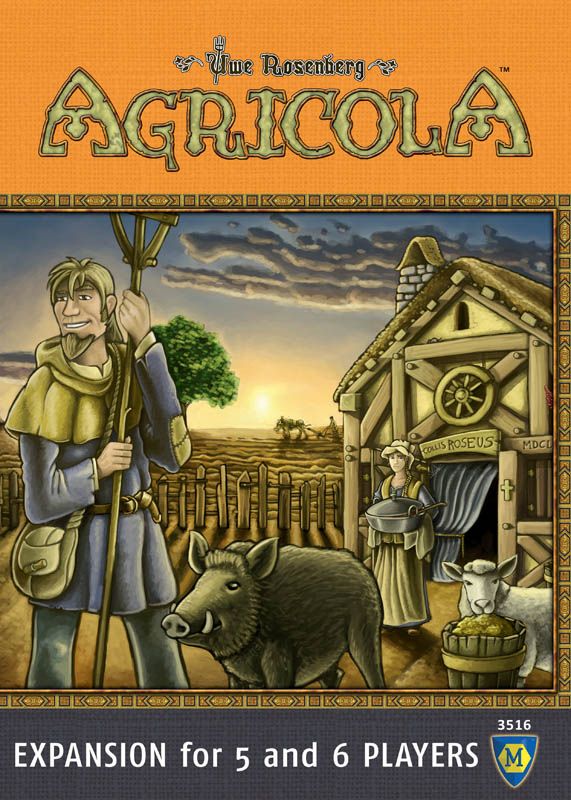 Agricola Game 5-6 Player Extension