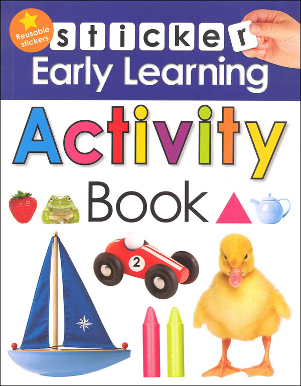 Sticker Early Learning Activity Book