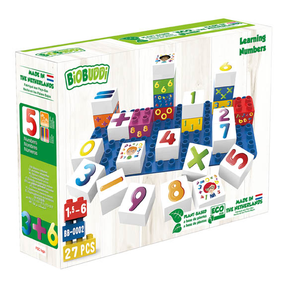 BioBuddies Numbers Learning Set (27 piece)
