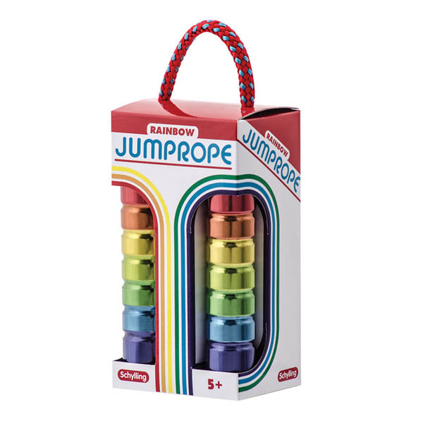 Rainbow Tin Jumprope