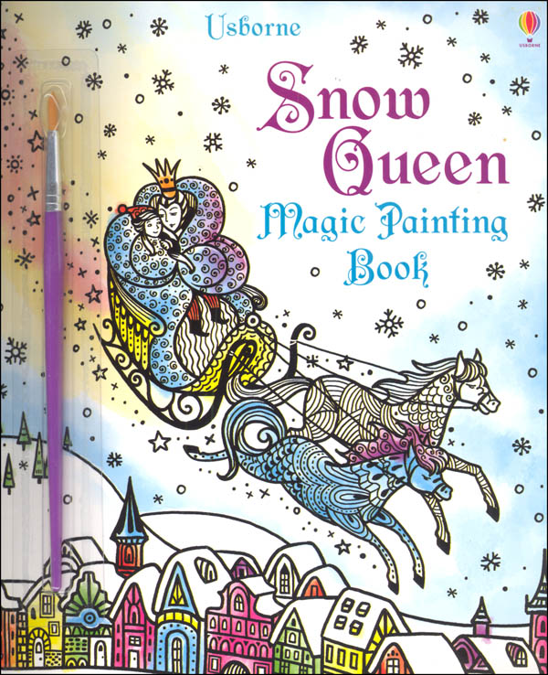 Snow Queen Magic Painting Book (Magic Painting Books)