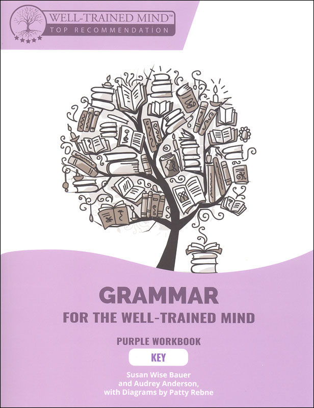 Grammar for the Well-Trained Mind: Purple Workbook Key