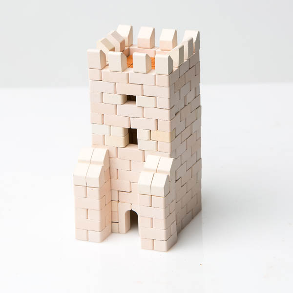 Gate Tower 300 Piece Mini Bricks Construction Set