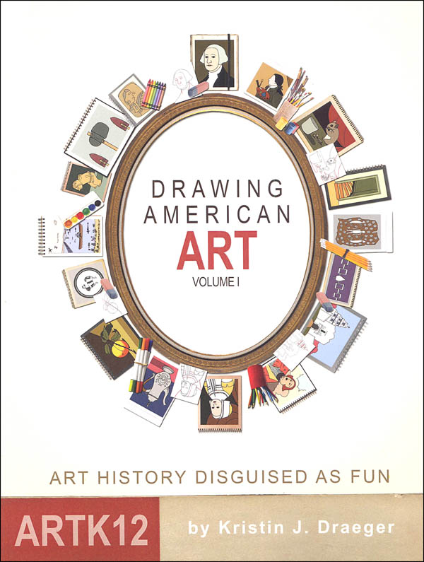 ArtK12 Drawing American Art - Volume 1