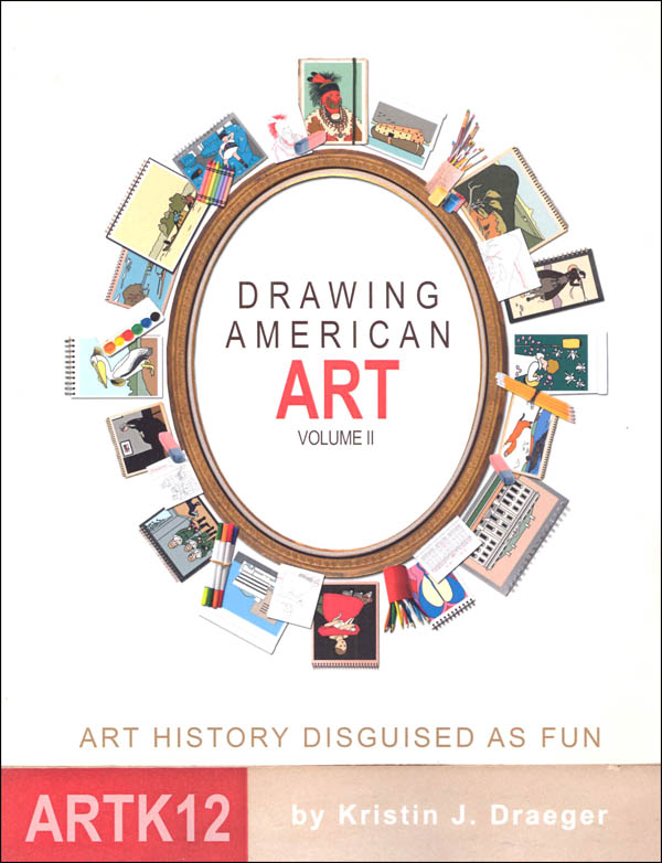 ArtK12 Drawing American Art - Volume 2