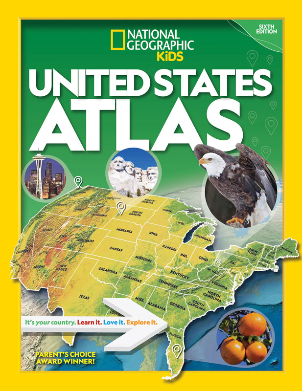 National Geographic Kids US Atlas Sixth Edtn.