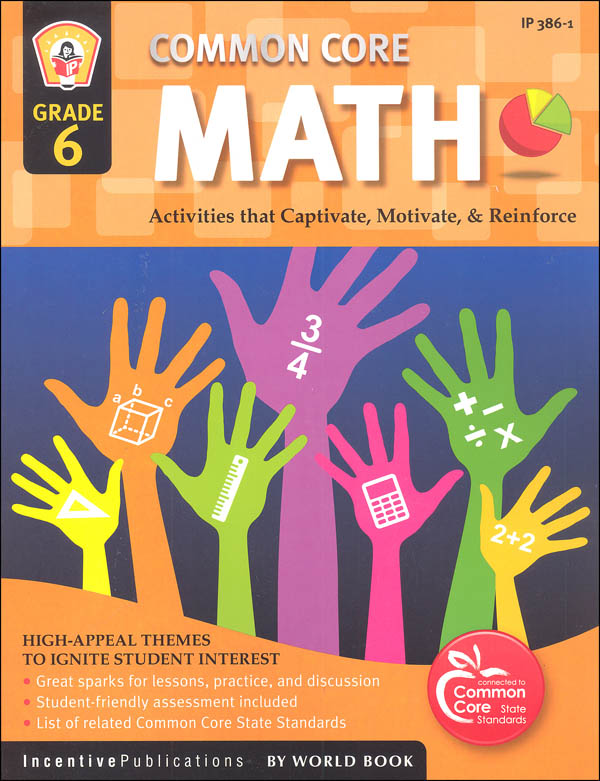 Common Core Math Activities Grade 6