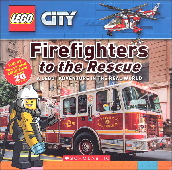 Firefighters to the Rescue: LEGO Adventure in the Real World