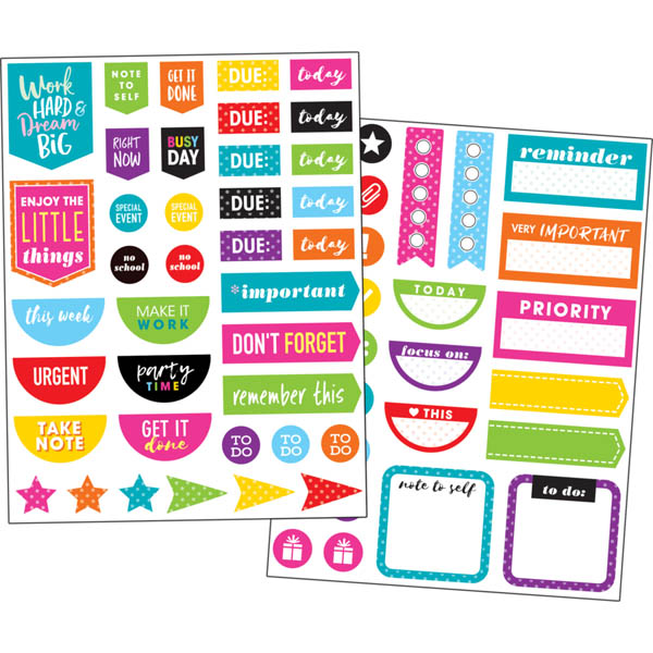 Planner Stickers - Colorful