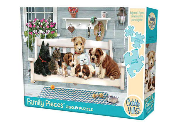 Porch Pals Puzzle (350 piece)