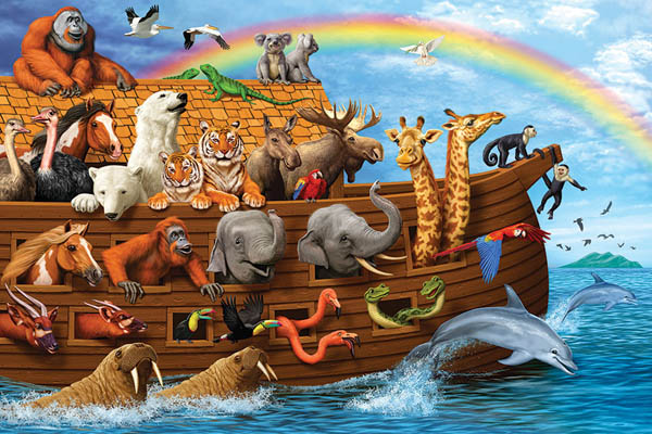 Voyage of the Ark Tray Puzzle (35 piece)