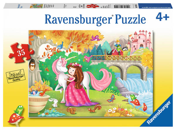 Afternoon Away Children's Puzzle (35 pieces)