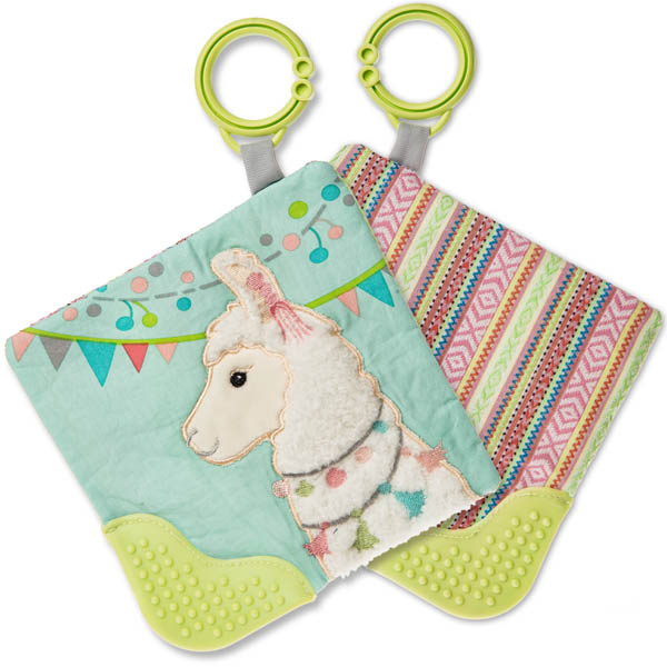 Lily Llama Crinkle Teether