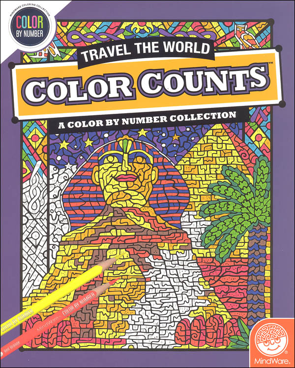Color Counts - Travel the World
