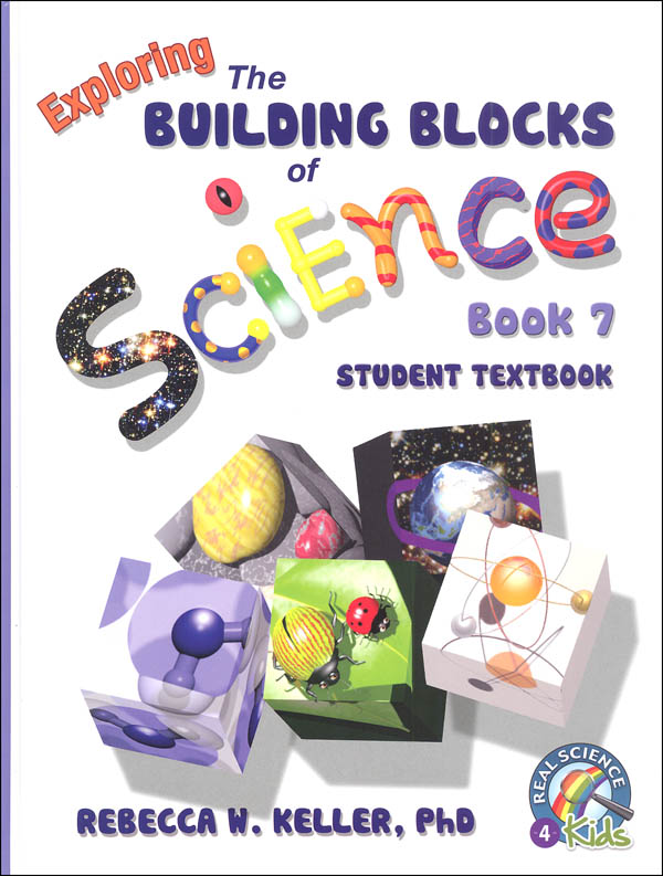Exploring Building Blocks of Science Book 7 Student Textbook Hardcover