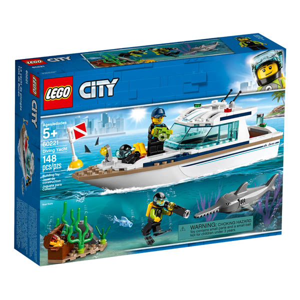 LEGO City Great Diving Yacht (60221)