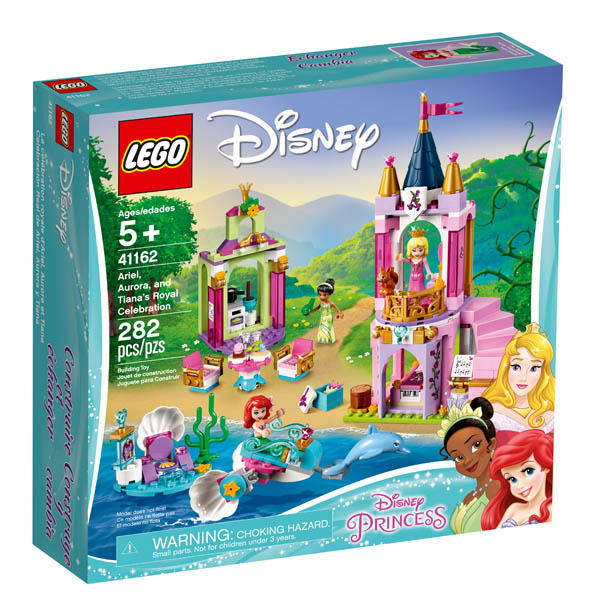 LEGO Disney Princess Ariel, Aurora, and Tiana's Royal Celebration (41162)