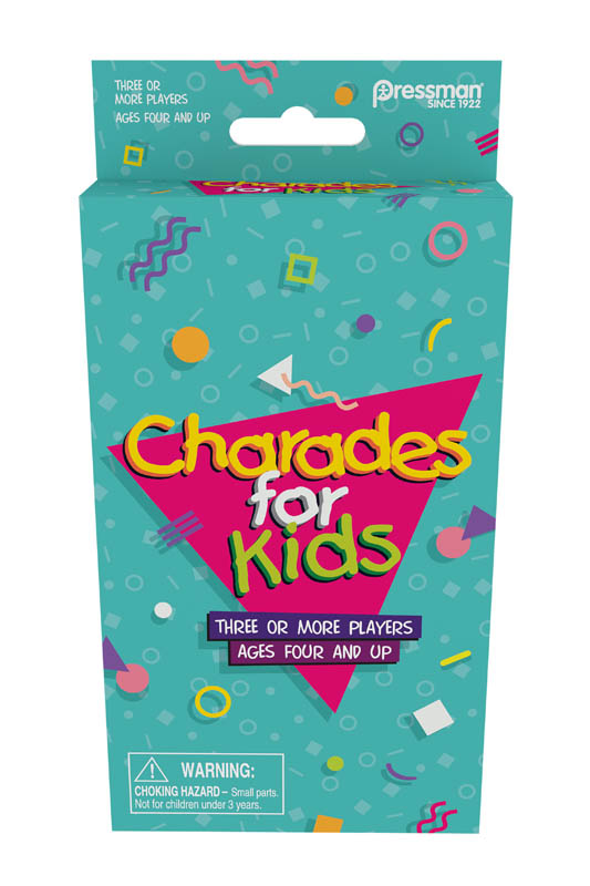 Charades for Kids Retro Peggable