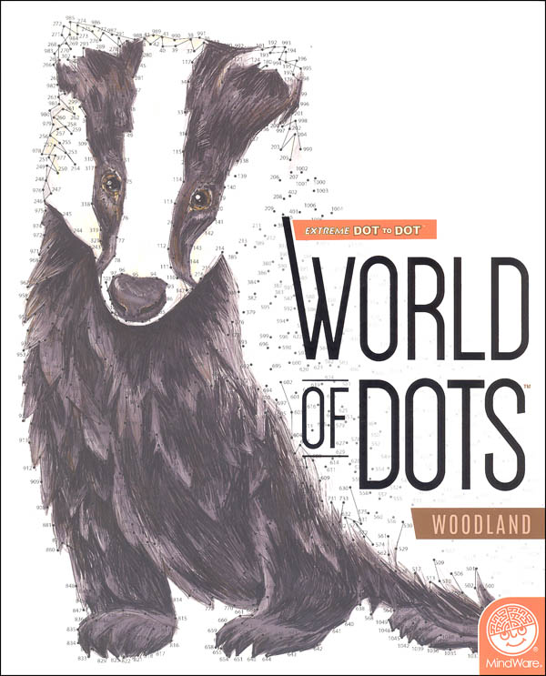 Extreme Dot to Dot:  World of Dots - Woodland