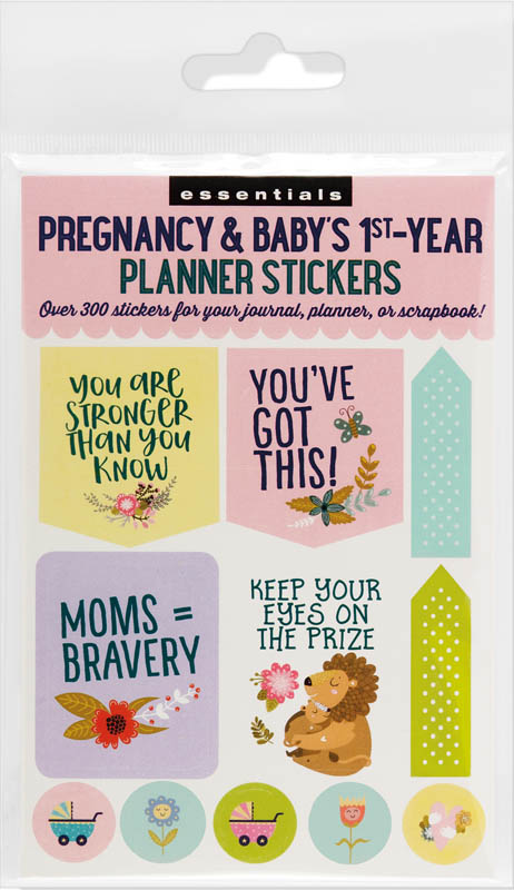 Pregnancy & Baby's First Year Planner Stickers