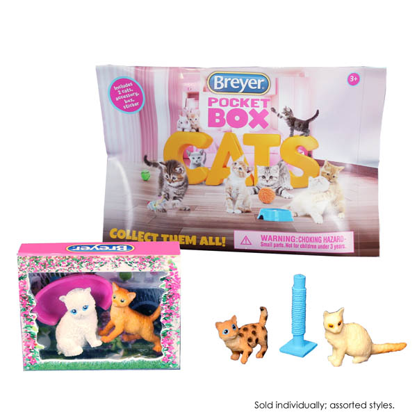 Breyer Pocket Box Cat - assorted style