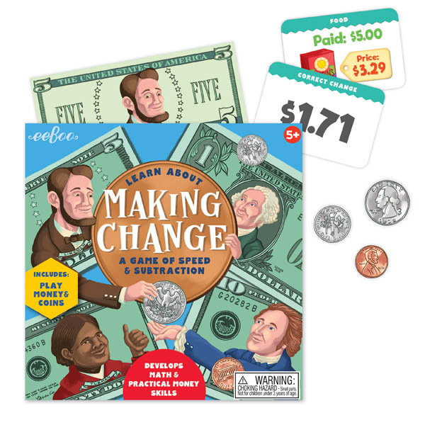 Making Change: A Game of Speed & Subtraction