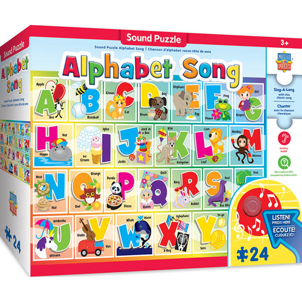 Alphabet Song Sound Puzzle (24-piece )