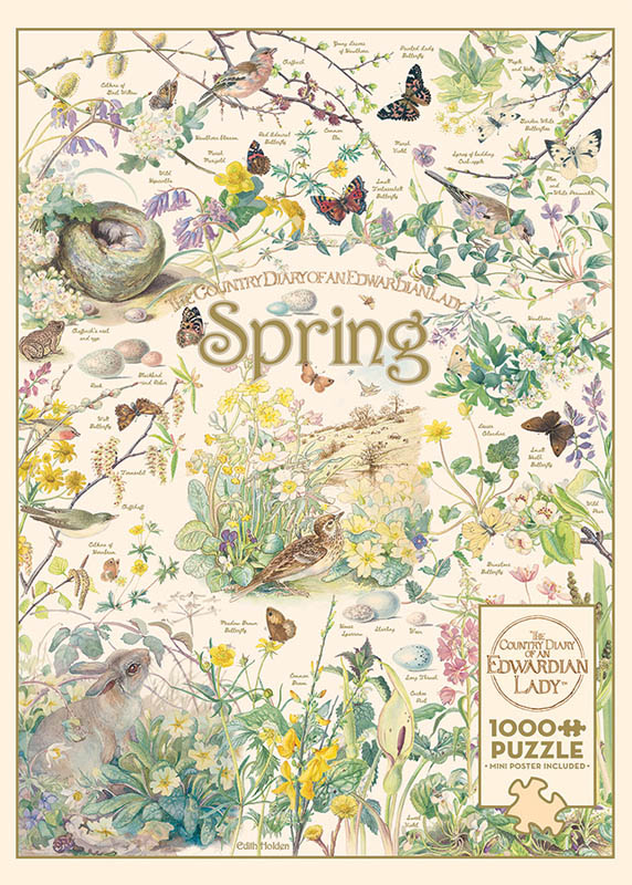 Country Diary: Spring Seasons Puzzle (1000 piece)