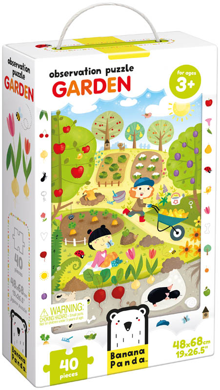 Garden Observation Puzzle (40 pieces)