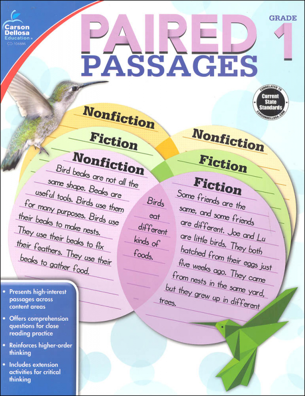 Paired Passages - Grade 1