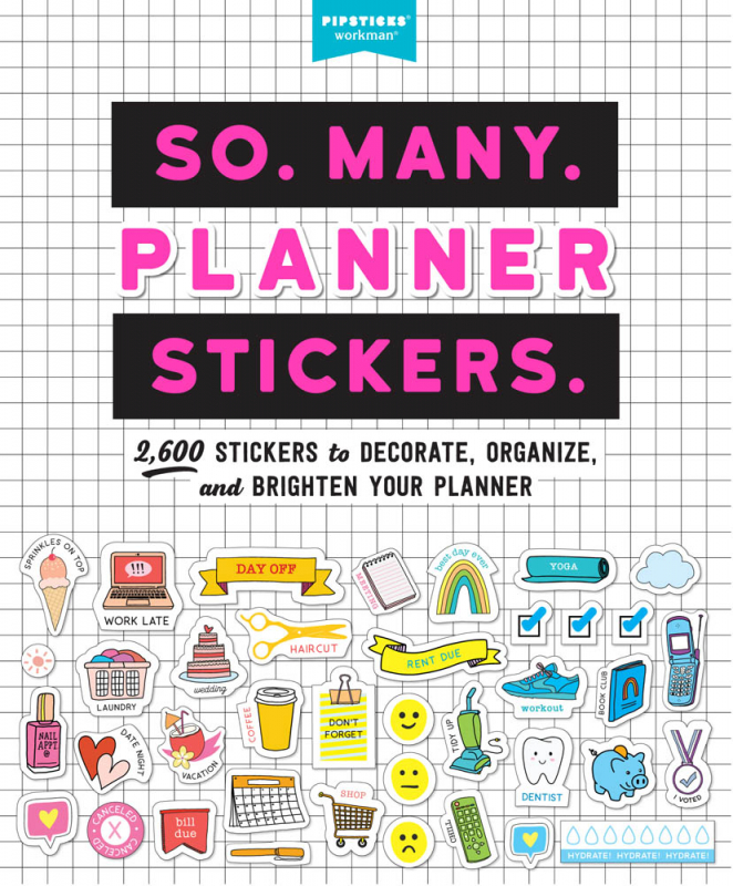 So Many Planner Stickers