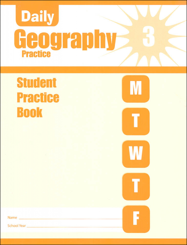 Daily Geography Practice Grade 3 - Individual Student Workbook