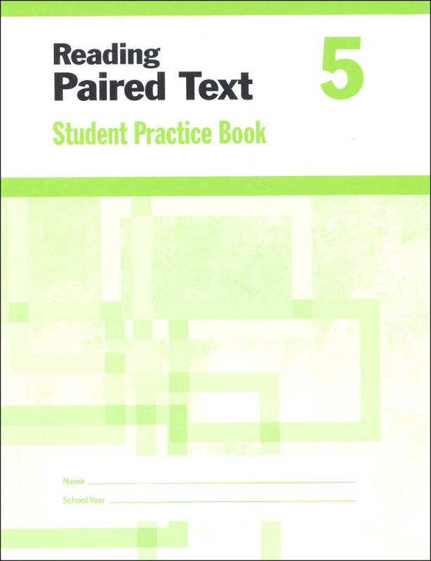 Reading Paired Text Grade 5 - Individual Student Workbook