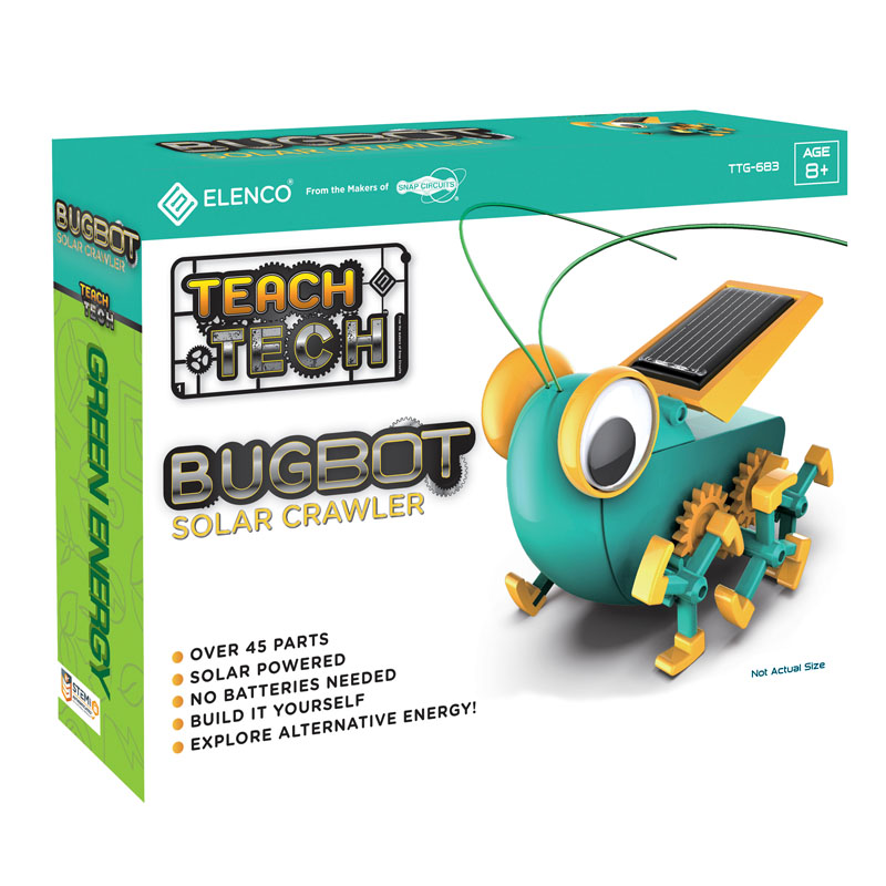 Teach Tech BugBot Solar Crawler